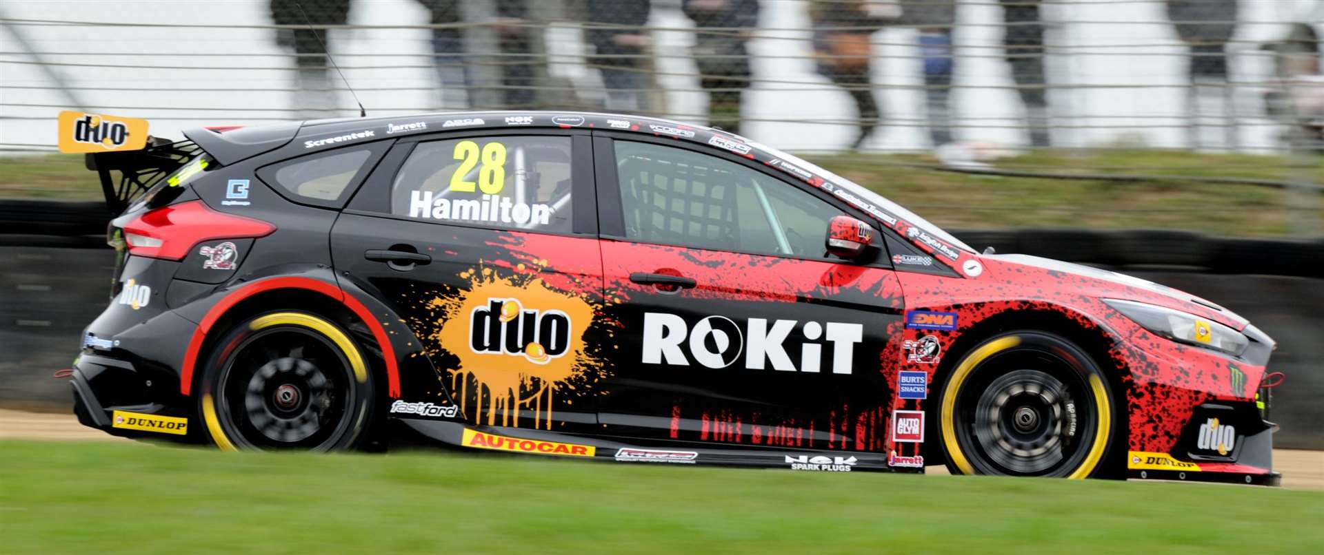 Nicolas Hamilton, brother of F1 world champion Lewis, is on the BTCC grid this season Picture: Simon Hildrew