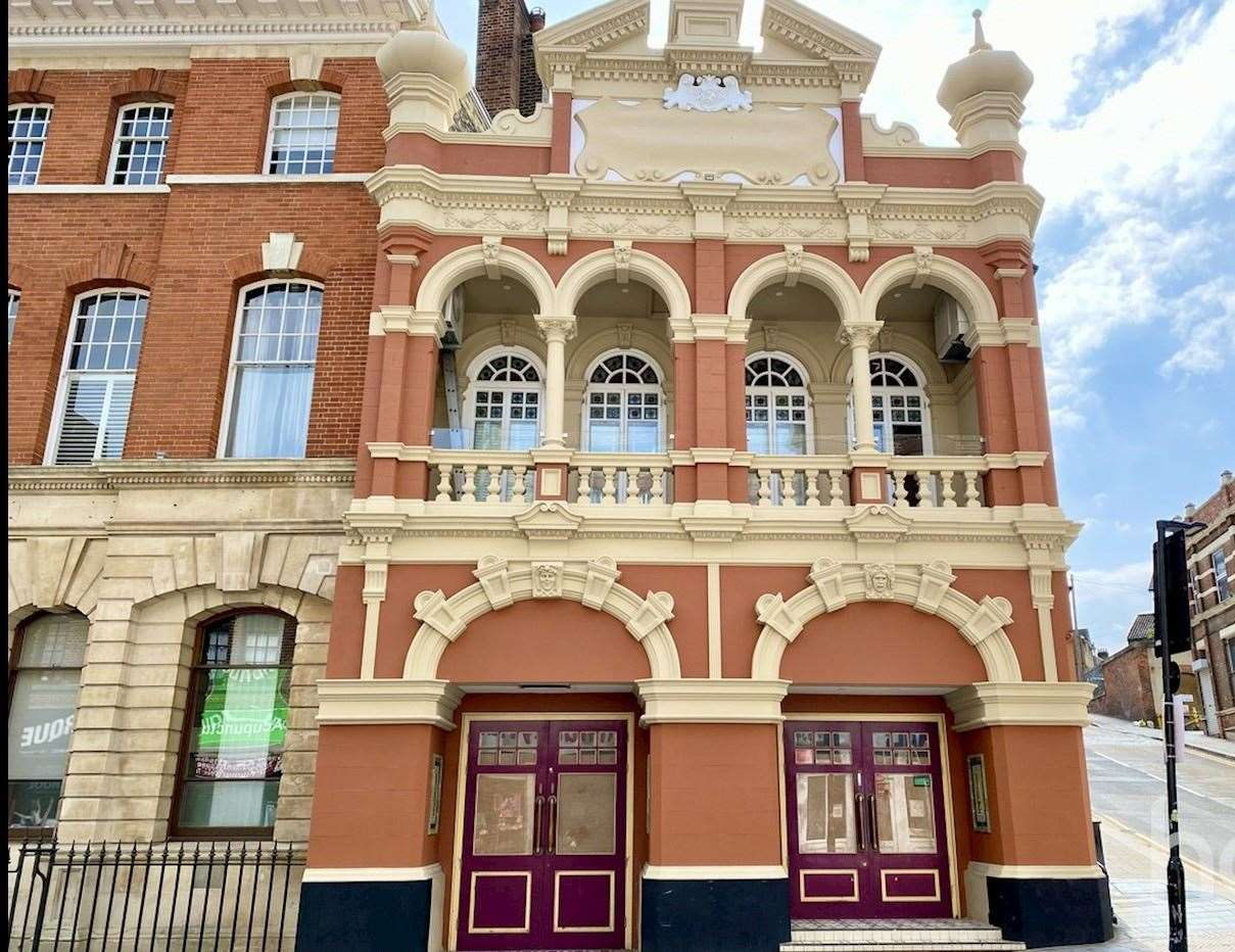 The two bedroom apartment for sale inside the converted former Theatre Royal in Chatham. Picture: Haart Medway