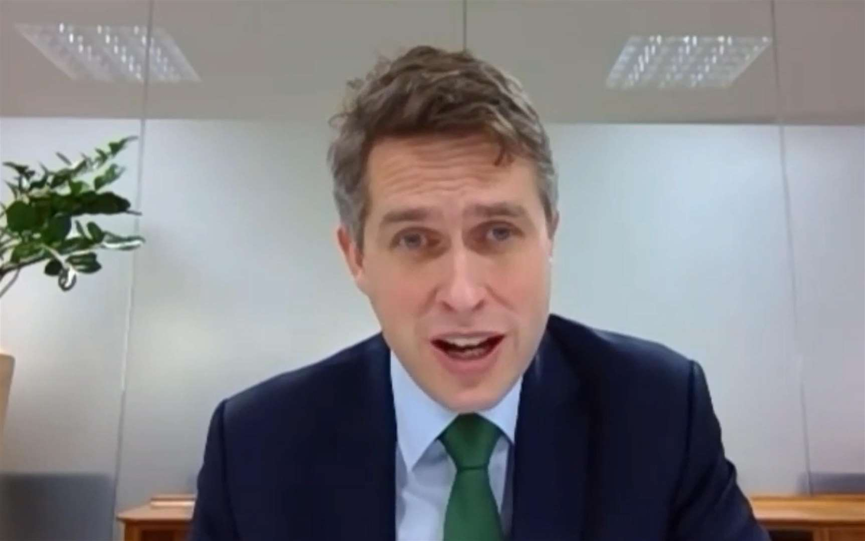 Education Secretary Gavin Williamson is expected to rule out a return to the classroom in February(House of Commons)