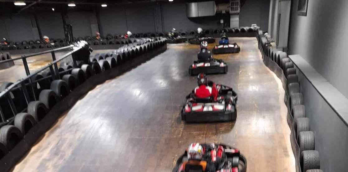 Indoor karting similar to this is set to come to Kent