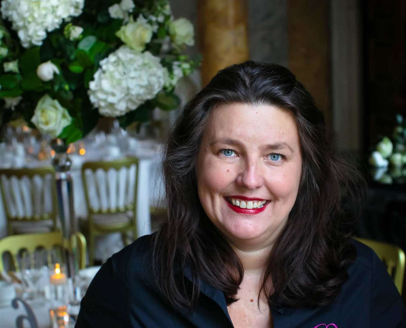 Chic Weddings and Events owner Laurie Edwards