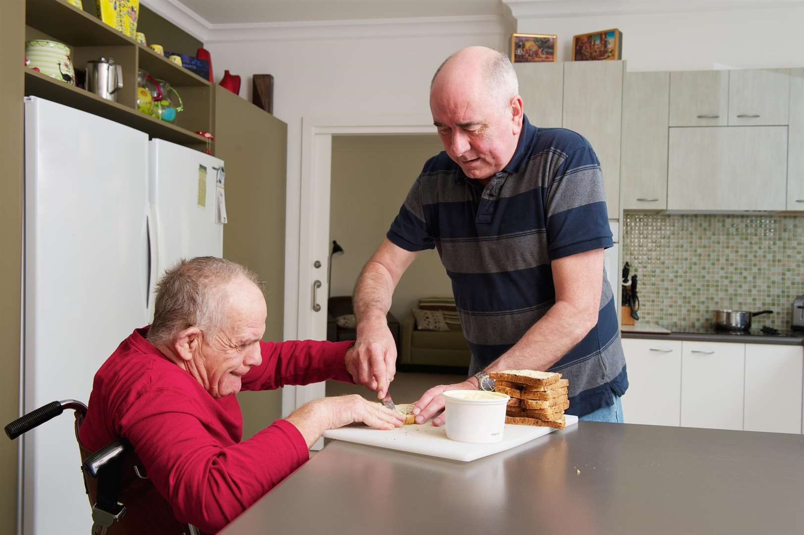 Unpaid carers can get additional support from Shared Lives
