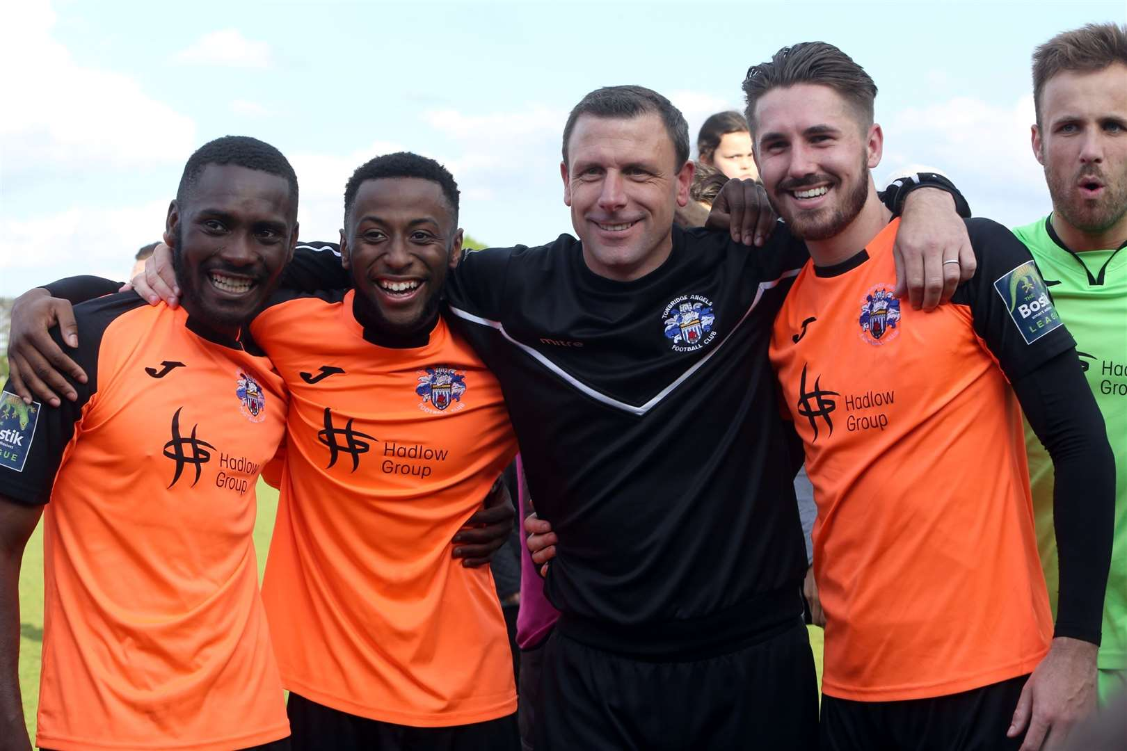 Steve McKimm and Tonbridge are getting ready for National League South Picture: David Couldridge