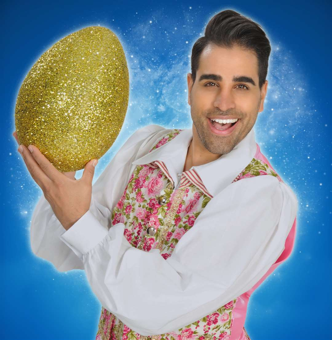 Dr Ranj will star in Mother Goose at the Marlowe this Christmas