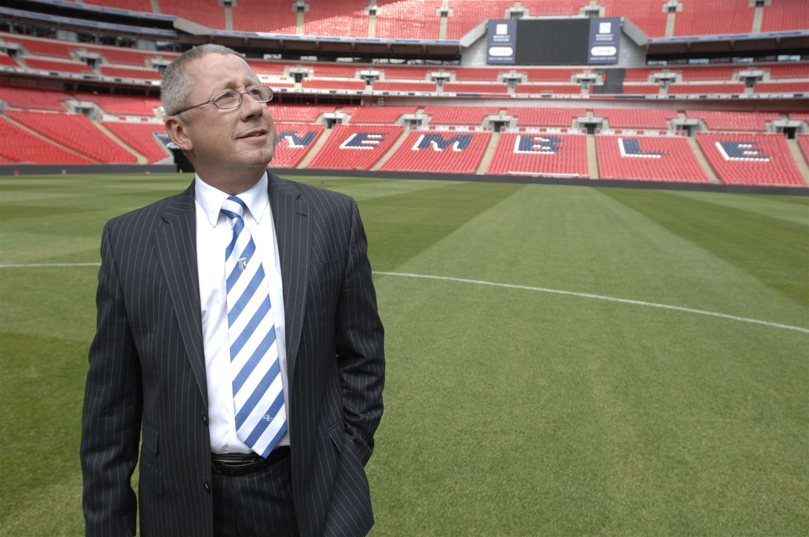 Gillingham have visited Wembley old and new under Paul Scally Picture: Grant Falvey