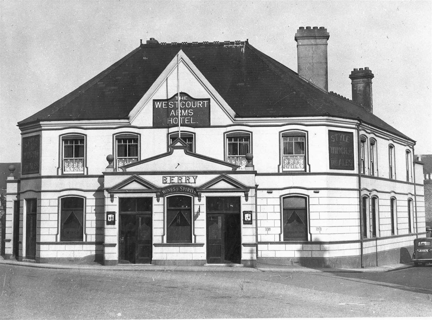 The Westcourt Arms in 1932