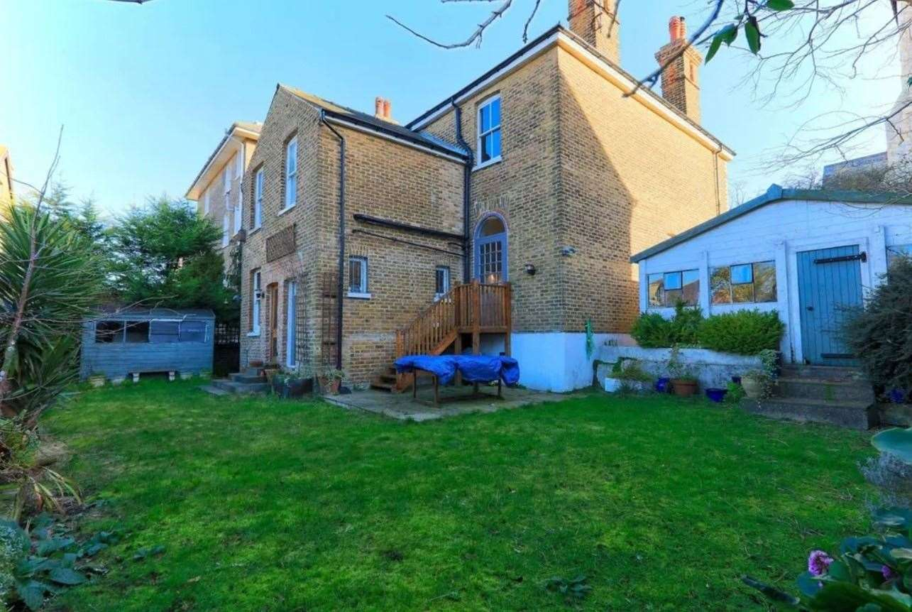 A look at the garden. Picture: Zoopla / Purple Bricks