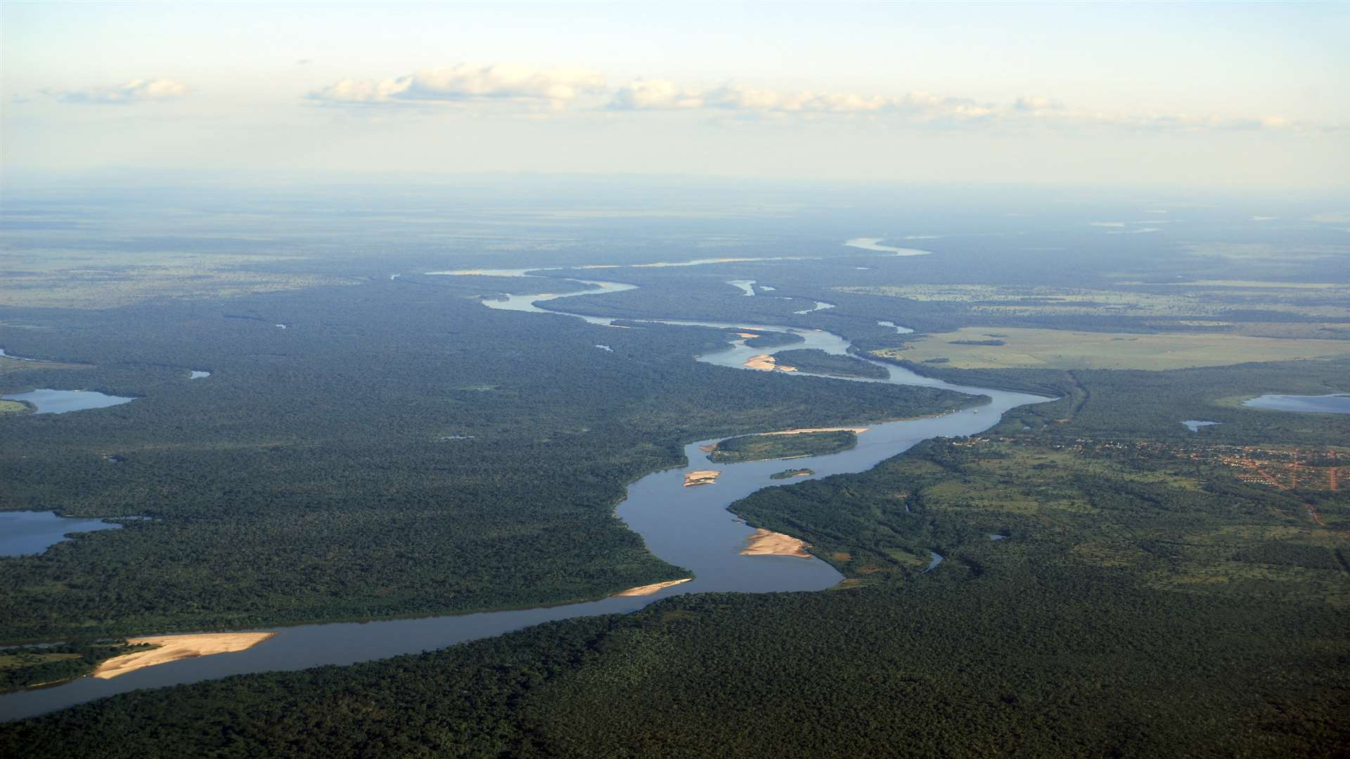 The Rio Negro in the Brazilian Amazon