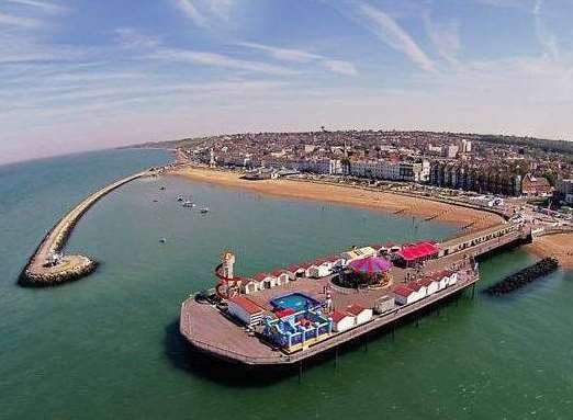 How Herne Bay's harbour and pier look today