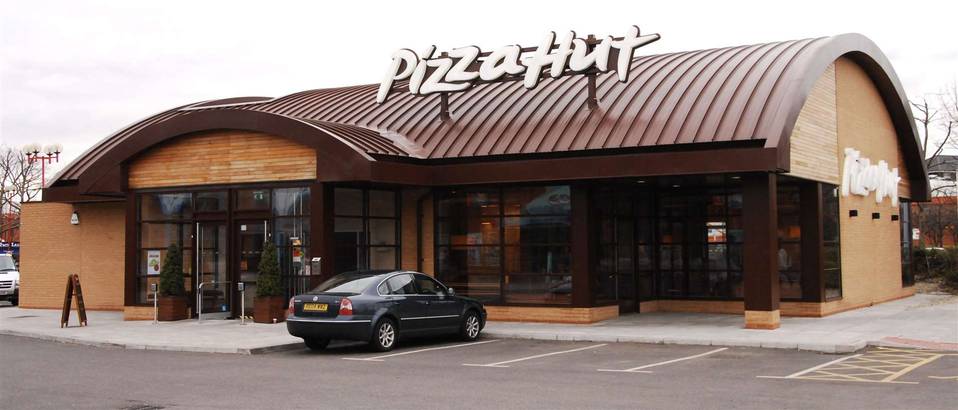 Pizza Hut, Gravesend. Picture: Nick Johnson