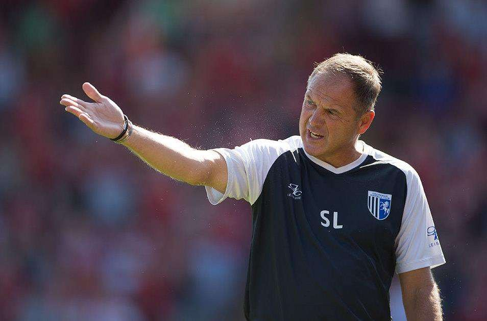 Frustration at Barnsley for Gills boss Steve Lovell Picture: Ady Kerry (3915419)