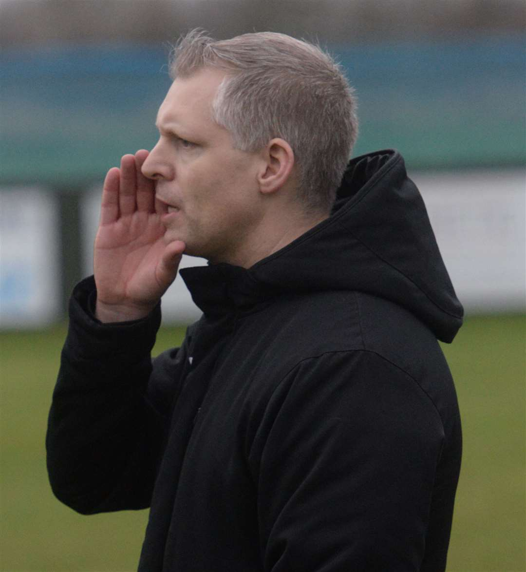 Sittingbourne manager Chris Lynch Picture: Chris Davey