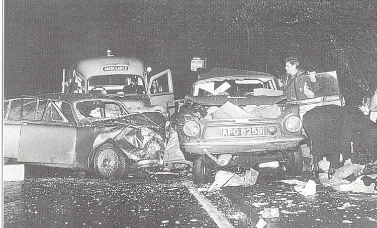 The crash in 1965. Credit to S.B Publications