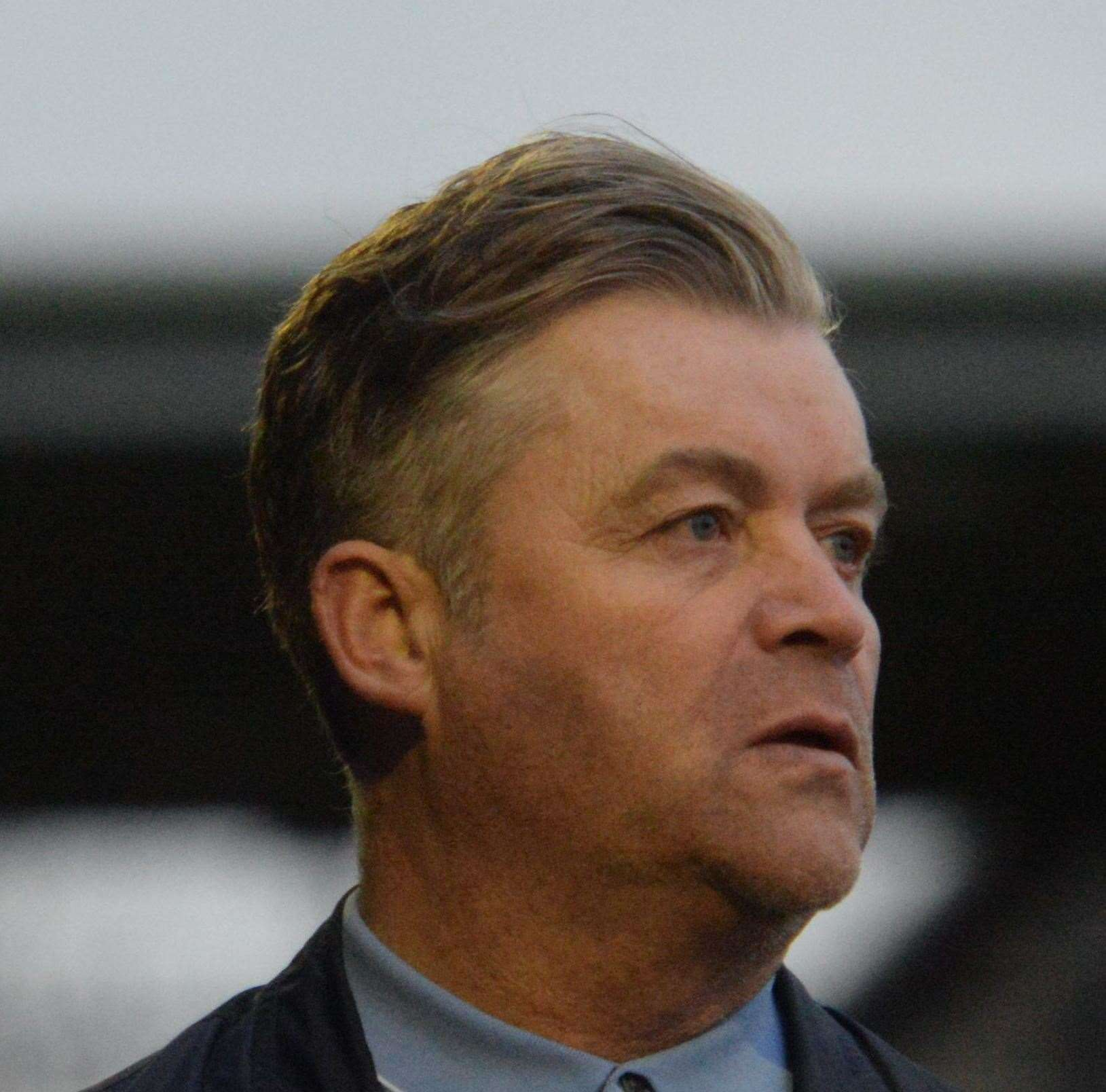 Dartford manager Steve King. Picture: Chris Davey