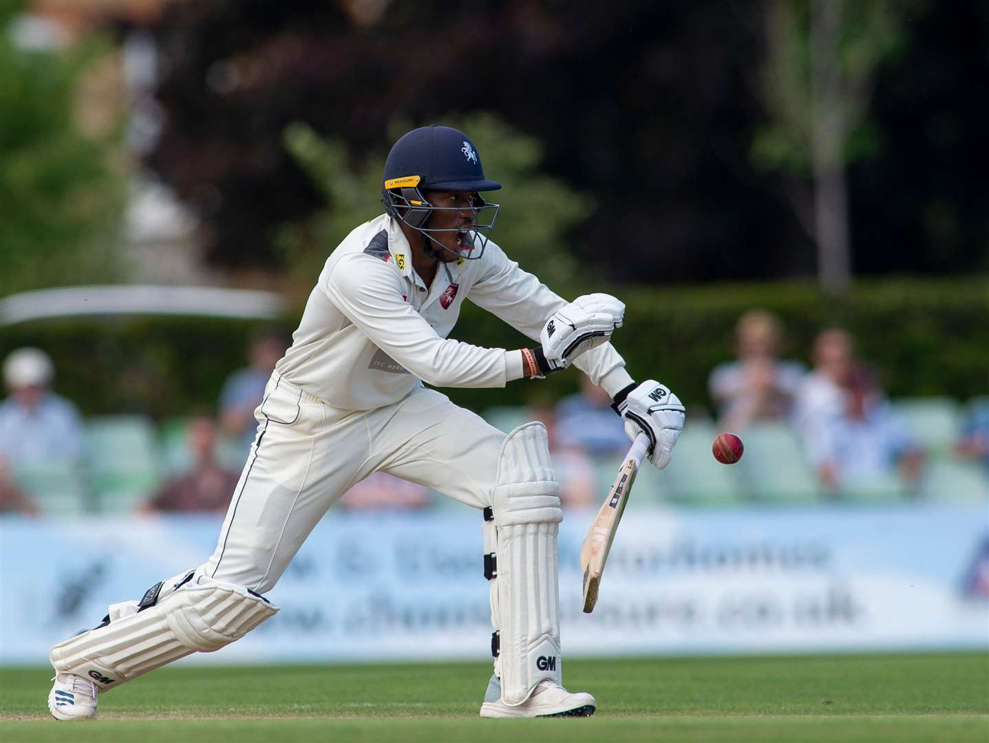 Daniel Bell-Drummond in action against Warwickshire. Picture: Ady Kerry