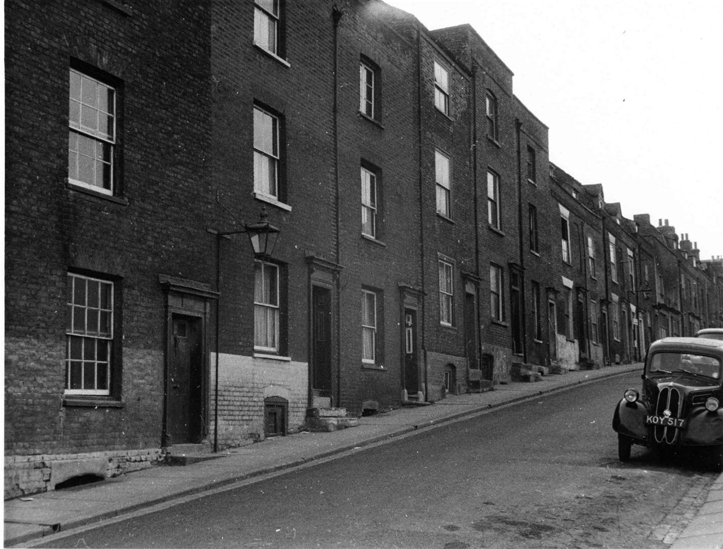 A view showing the rear of the old Rochester's old police station. Picture: Medway Archives and Local Studies Centre