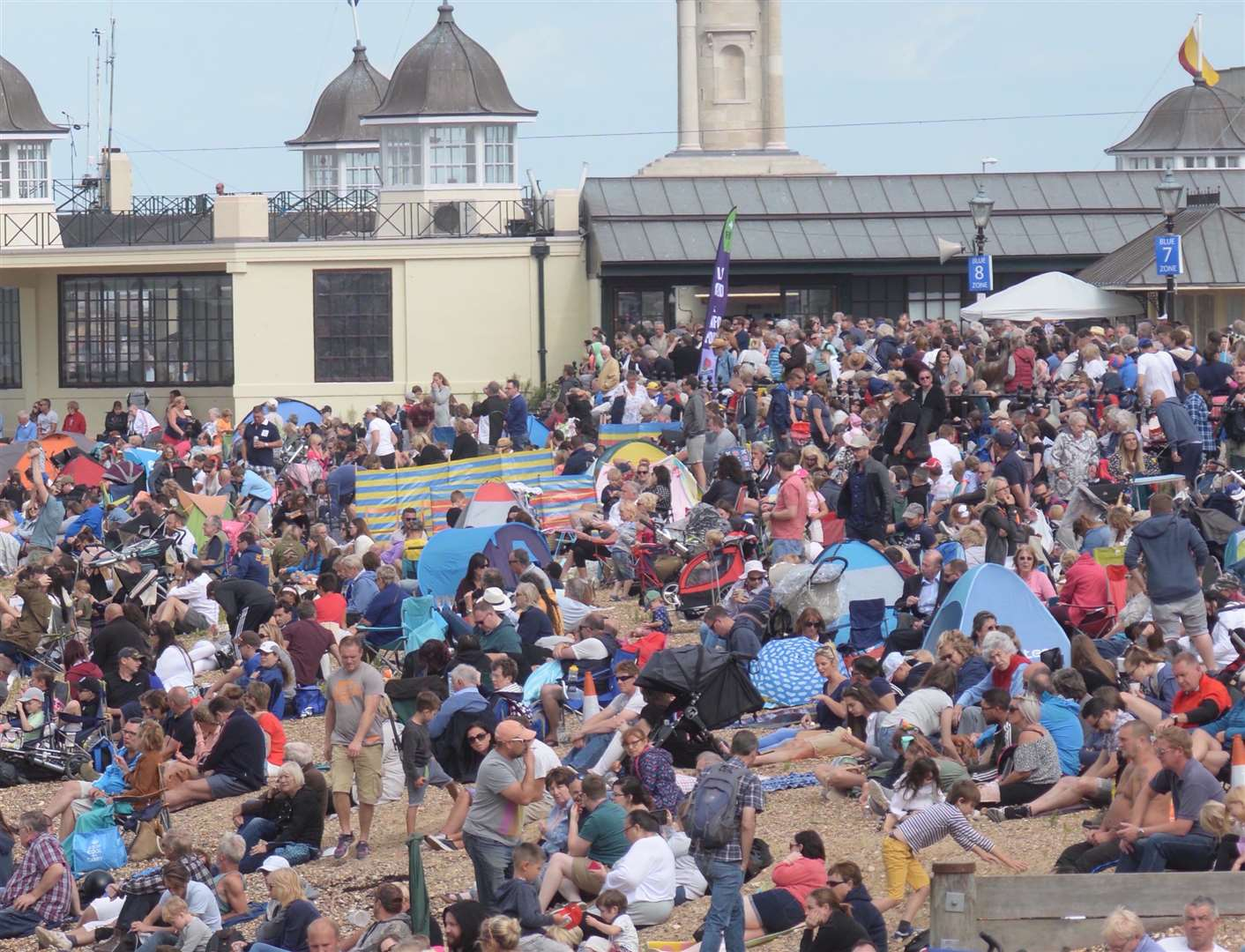 The air show's attract thousands to Herne Bay