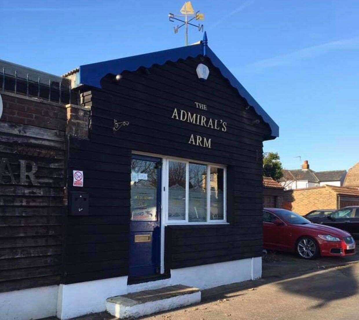 The Admiral's Arm in Trafalgar Square, Queenborough