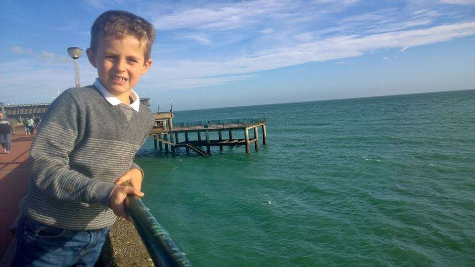 Matthew Friend sent a message in a bottle out to sea off Deal Pier