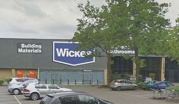 Plans showing how the new Wickes store would look