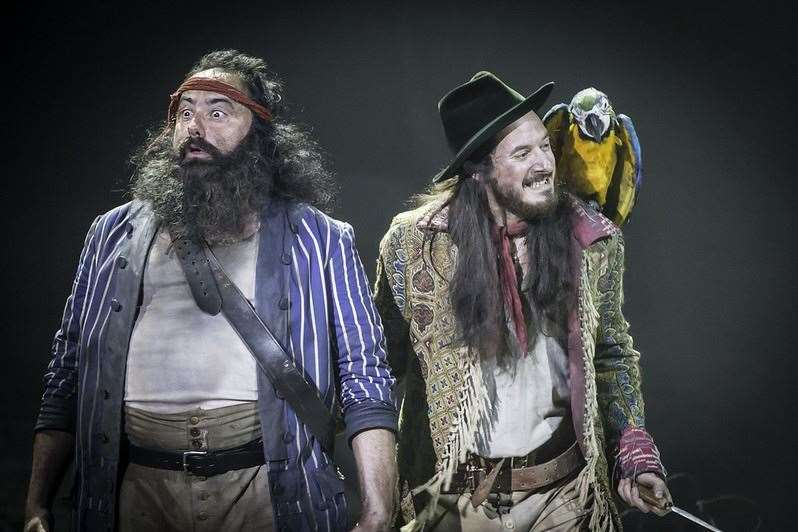 National Theatre Live's Treasure Island Picture: Johan Persson