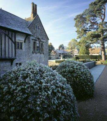 A winter's day at Ightham Mote Picture: National Trust