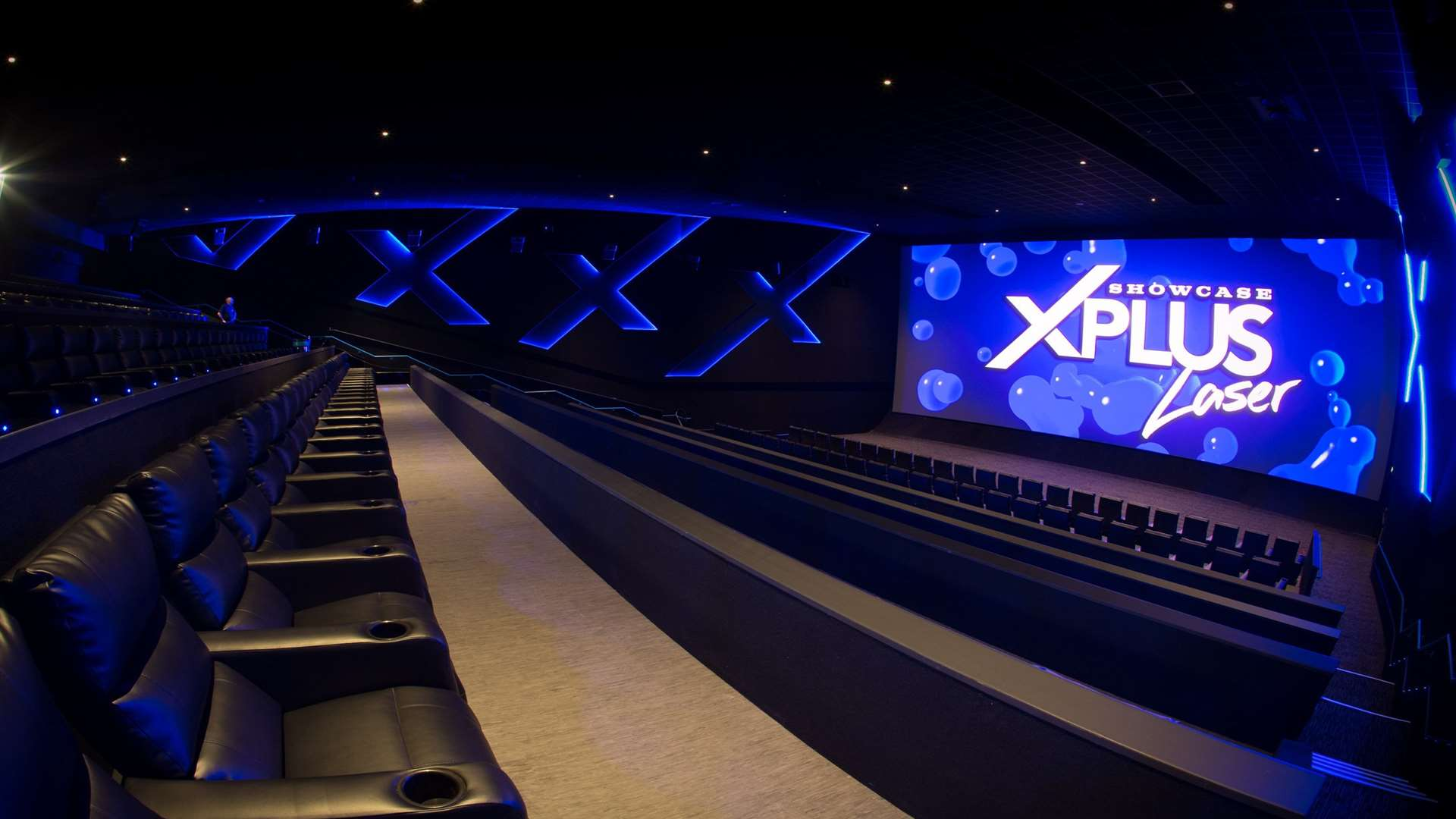 The new luxury auditoriums at Bluewater Showcase cinema de Lux