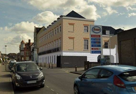 How the proposed development of D&J Tyres in Kings Road could look
