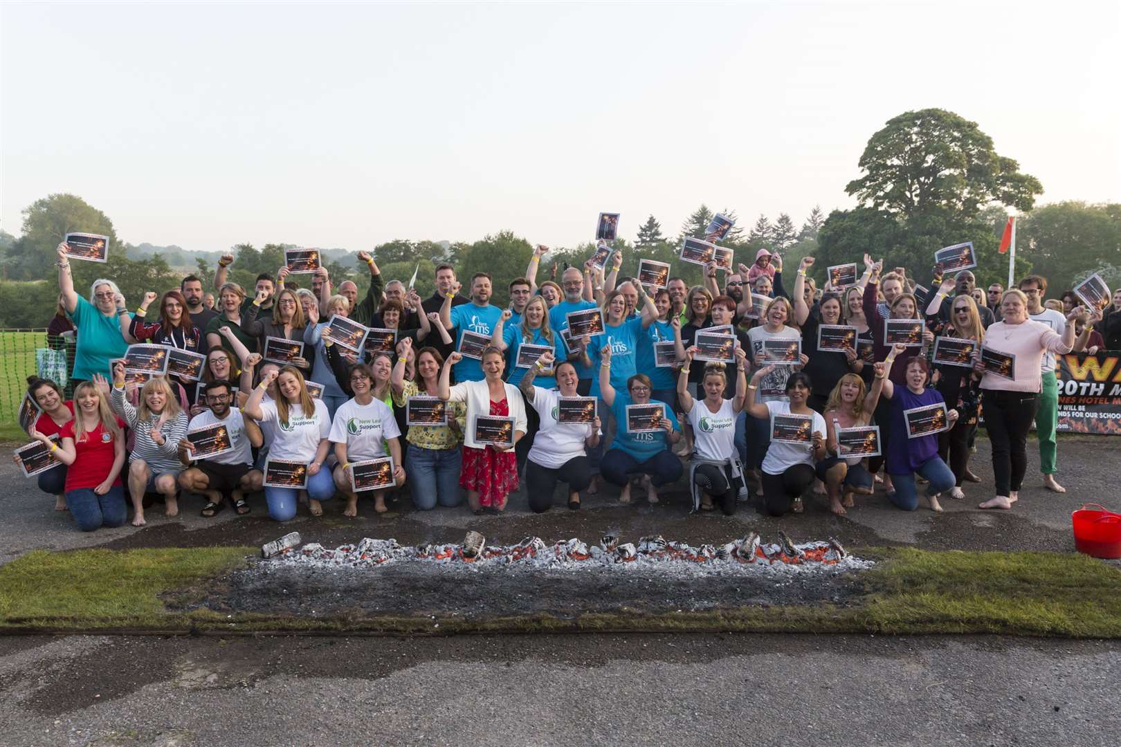 KM Charity of the Year winners can benefit from collaborative events with the KM Charity Team such as the Firewalk Challenge to help boost their profile and fundraising.