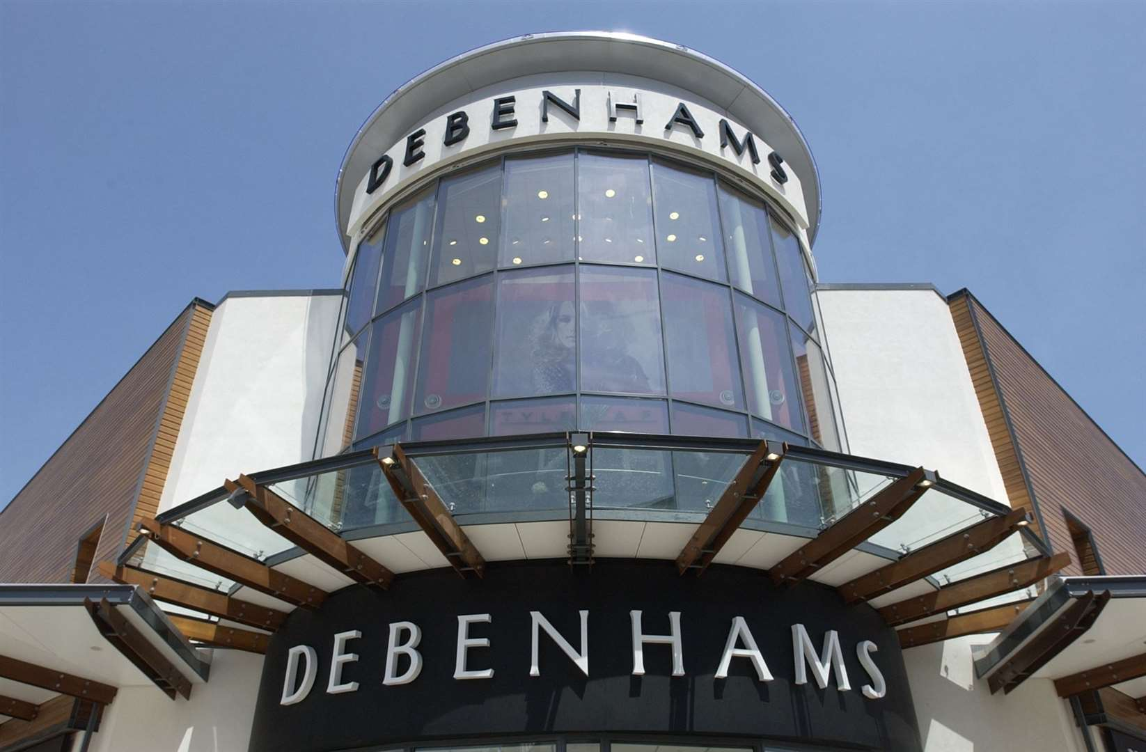 It is not clear what the future holds for Debenhams' Kent stores