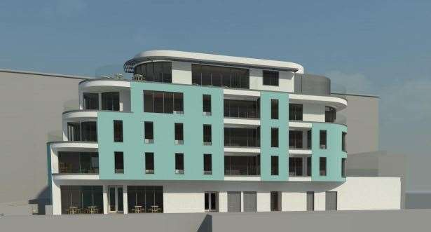 How the Western Undercliff development could look. Picture: MBW Architects