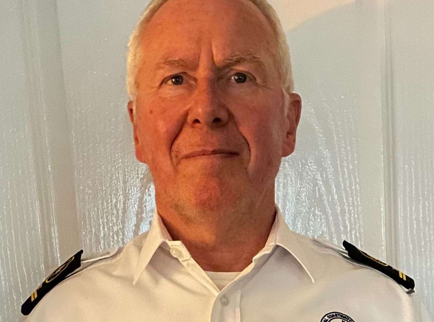 Herne Bay Coastwatch station manager Paul Clarke