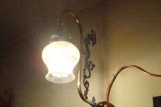 A gas lamp. Stock image