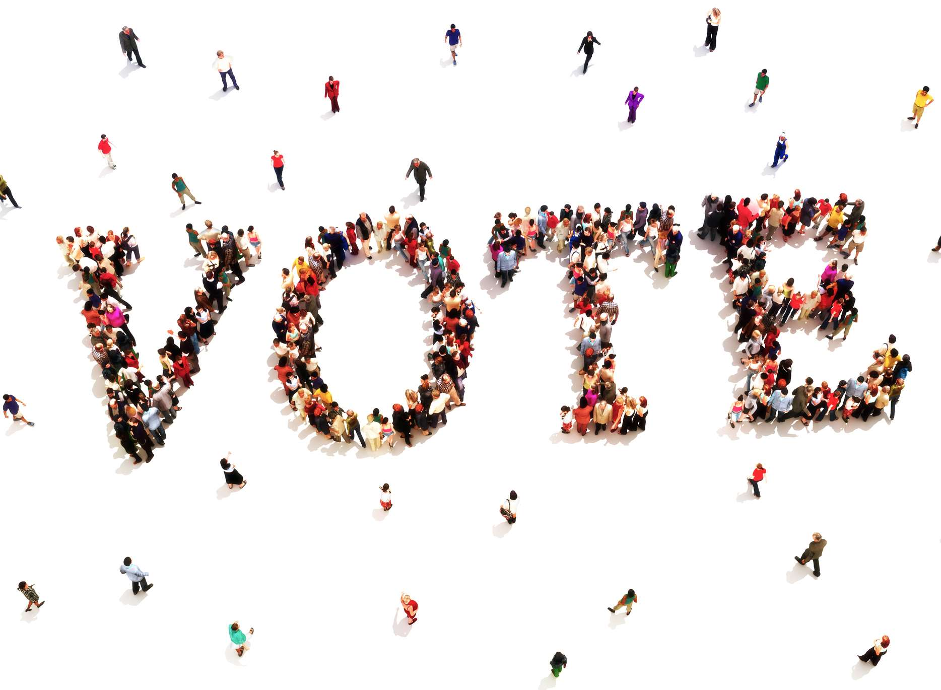 Voters have been urged to get to the polling stations. Stock image