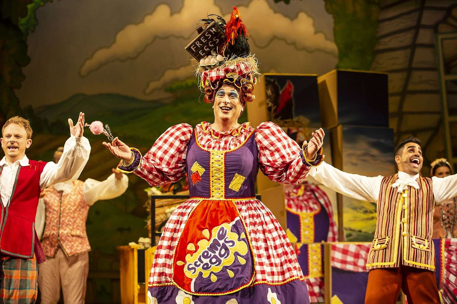 Dame Ben Roddy as Mother Goose last year Picture: The Marlowe Theatre