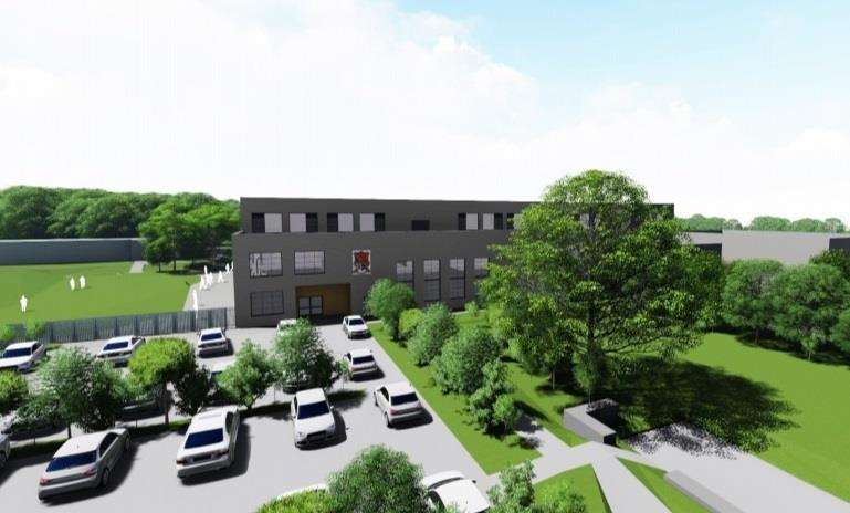 How the new-build grammar school will look (5404967)