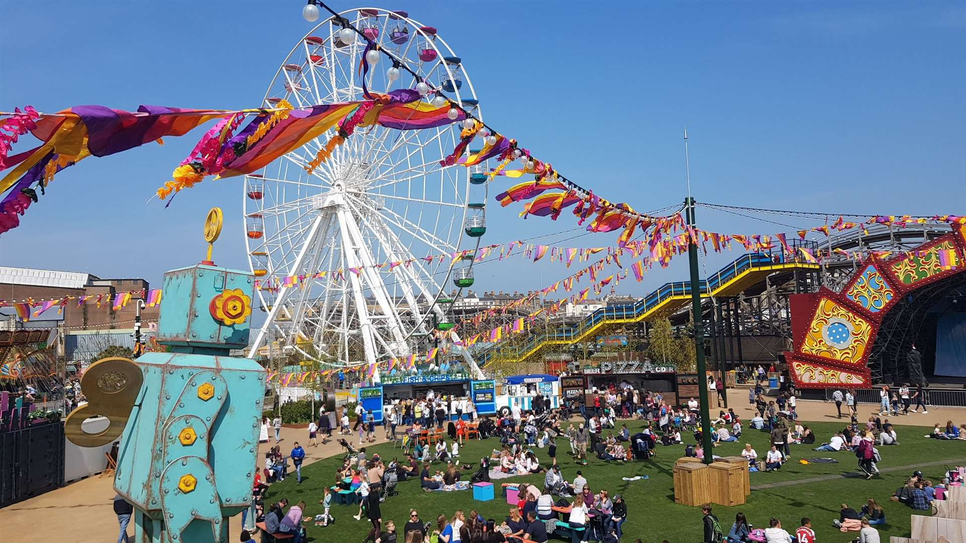 A-level students can get a half-price wristband at Dreamland today
