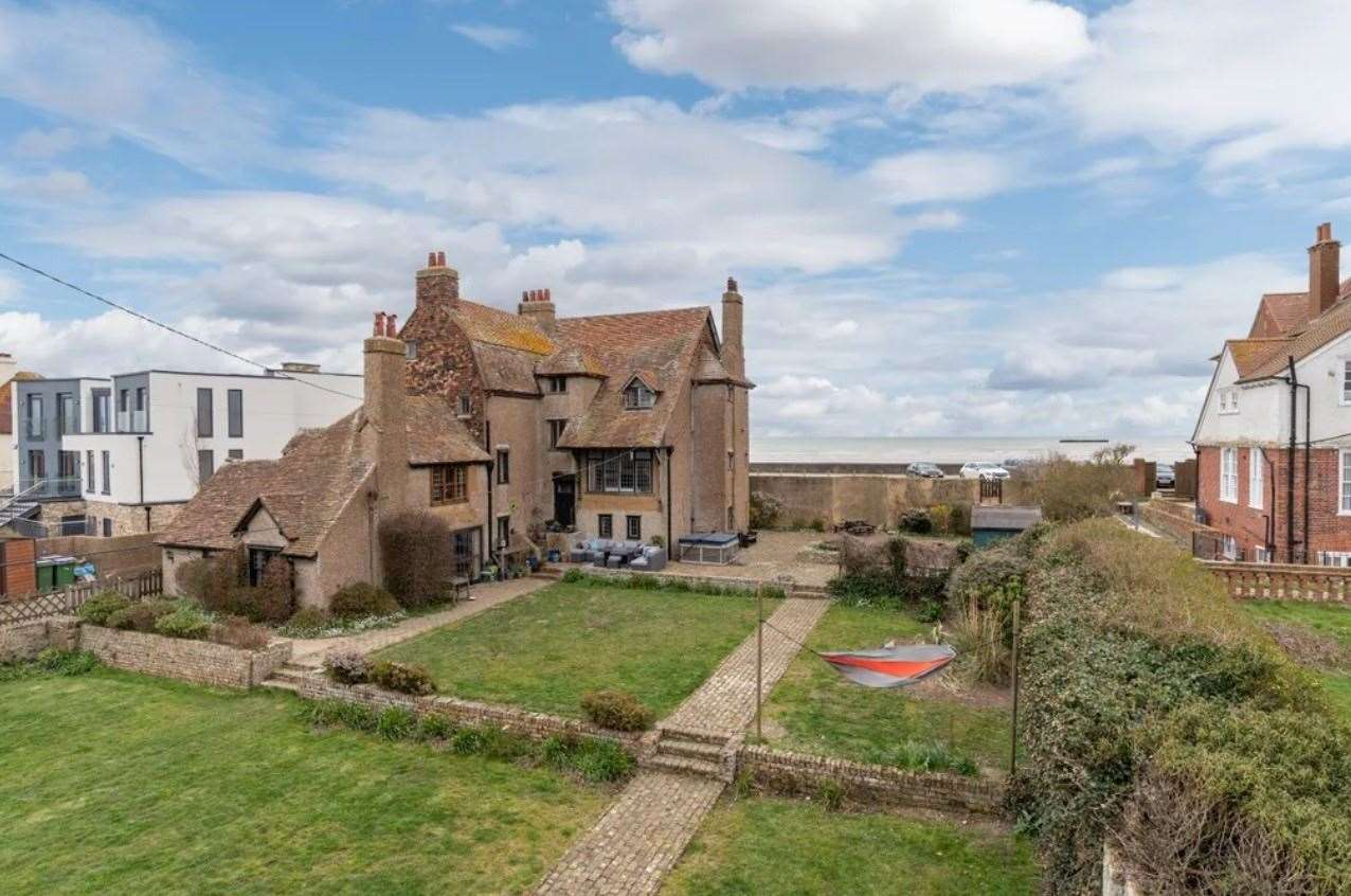The six-bed detached house in Coast Road, Littlestone. Picture: Zoopla / Strutt & Parker