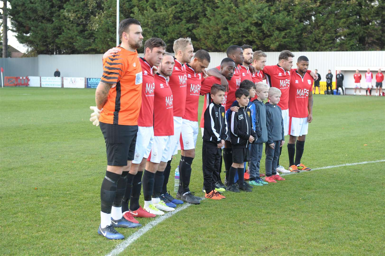 Chatham Town FC lost the match 1-0.