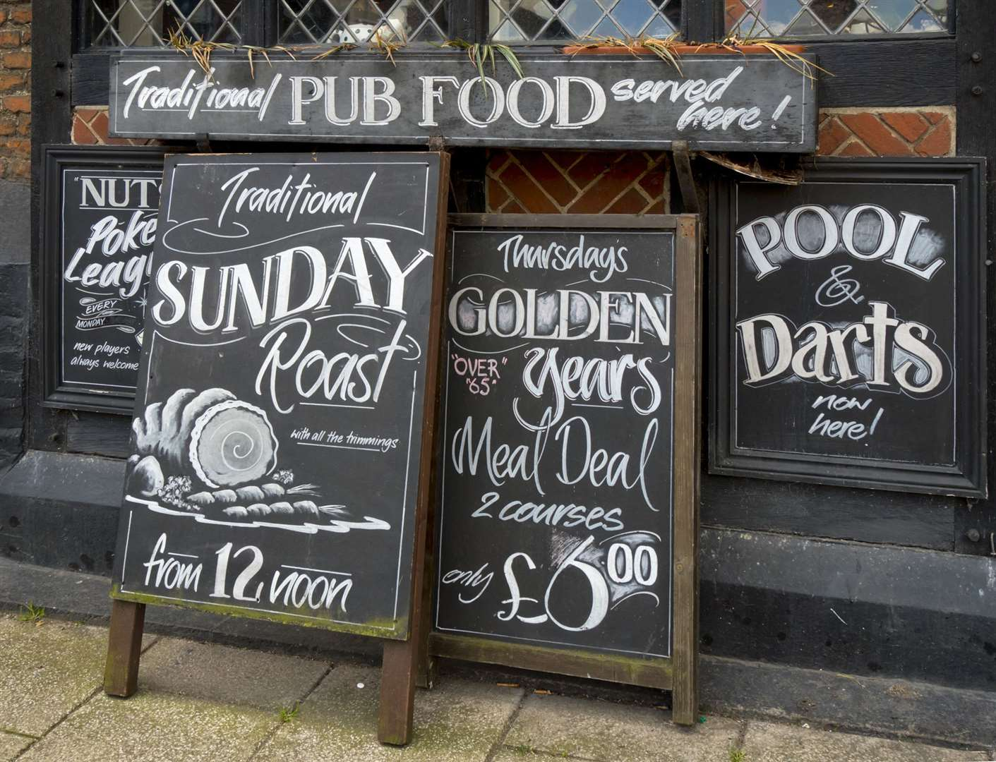 A sign of the times: Today's pubs have to offer so much more than a half a mild and a pickled egg