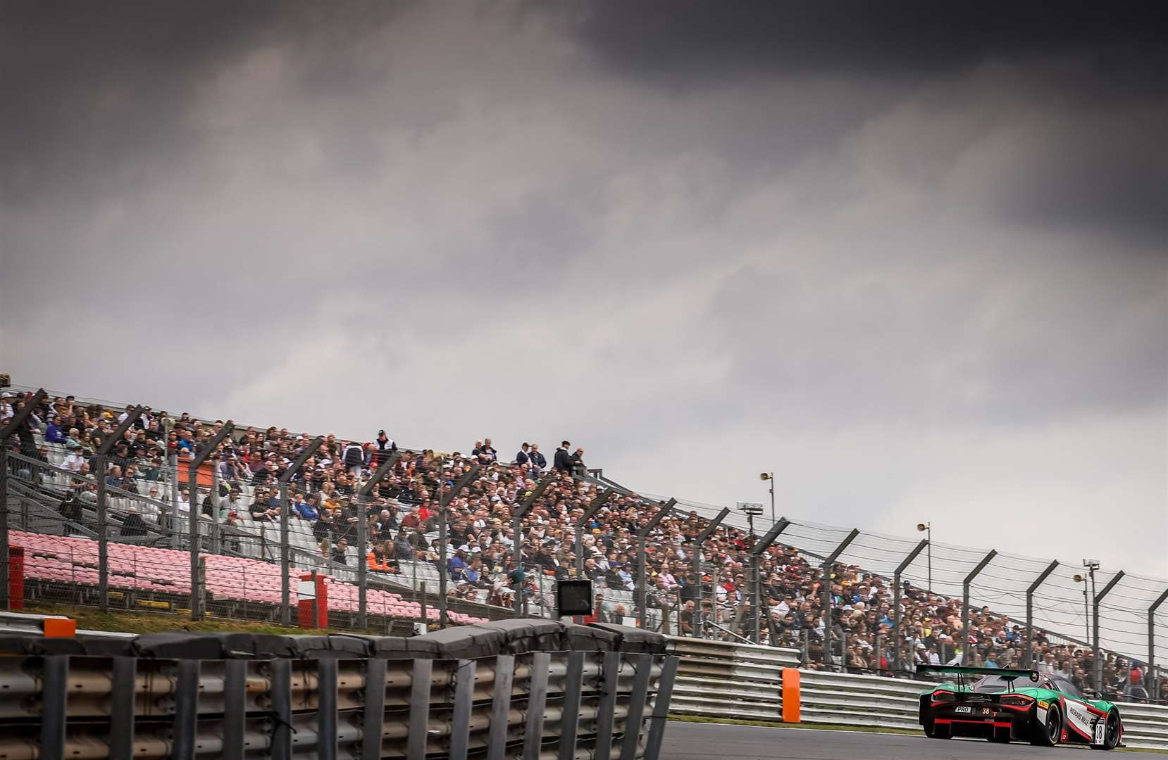 The GT World Challenge Europe Sprint Cup returned to Brands Hatch for the first time since May 2019. Picture: SRO