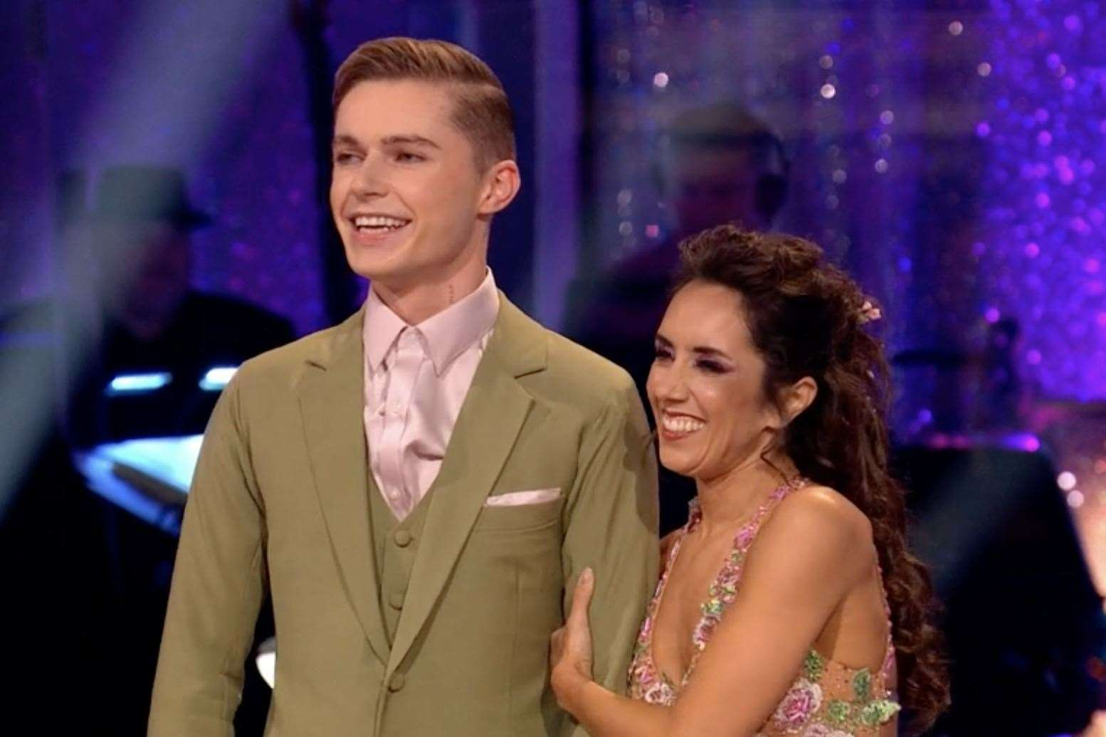 Dartford's HRVY has proven to be a popular element of the BBC's Strictly Come Dancing.  Image: BBC
