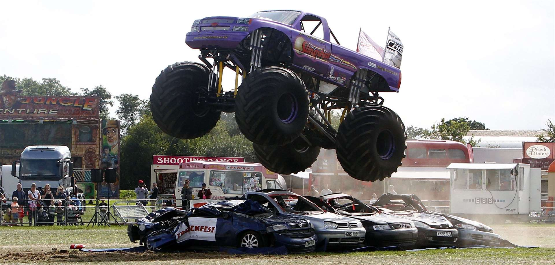 The Slingshot monster truck came to Truckfest last year Picture: Sean Aidan