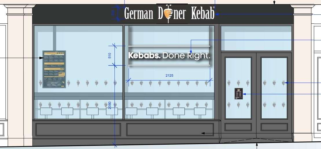 German Doner Kebab wants to move into the Game store in Canterbury