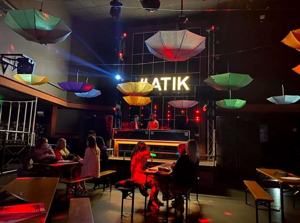 ATIK in Dartford has reopened as a nightclub pub