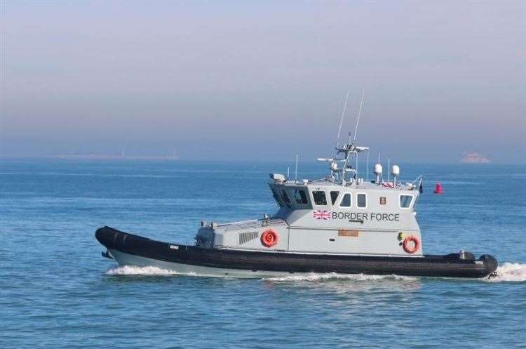 A Border Force cutter. Stock picture: Susan Pilcher