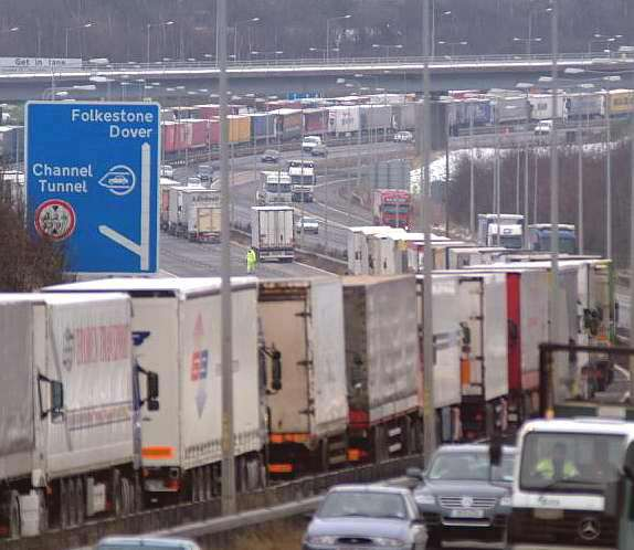 Highways England has been trying to find space for a lorry park to try and prevent a repeat of Operation Stack for many years