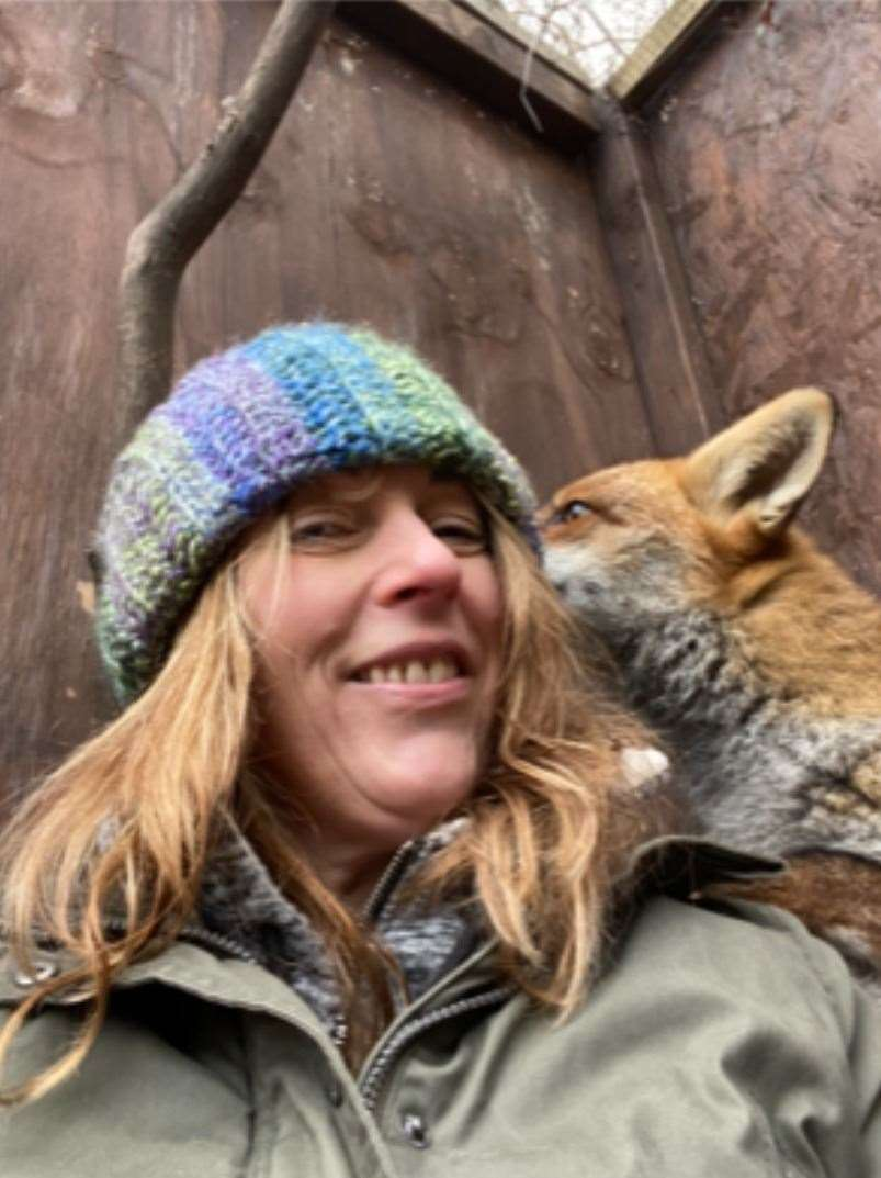 Laura is through to the finals of the national volunteering awards. Picture: One Voice For Animals UK