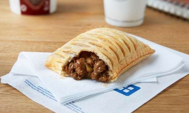 Vegan steak bake, Greggs