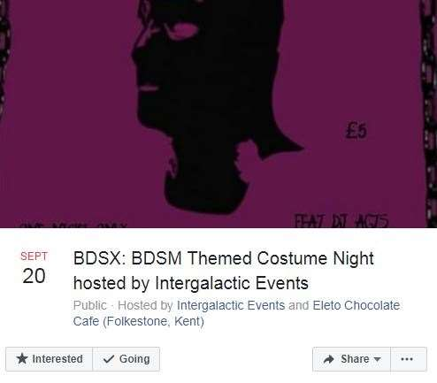 Bdsm Themed Costume Night Heads To Folkestones Electo